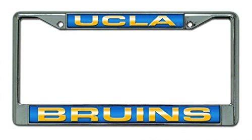 Billion_Store? UCLA Bruins License Plate Frame Laser Chrome Best Accessories for Tuning ()
