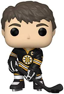 Ray Bourque Boston Bruins #68 Pop Sports Hockey Action Figure Bundled with EcoTEK Protector to Protect Display Box