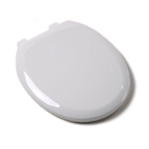 durable modeling Comfort Seats C1B3R4-00 Premium Plastic Toilet Seat, Round, White by Comfort Seats