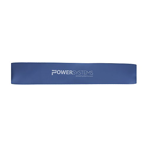 Power Systems 84816 Versa-Loop Resistance Band, Light Blue, Heavy (Loop Power)