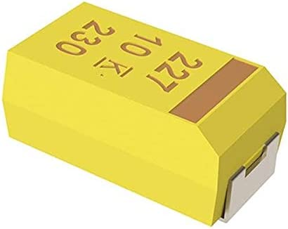Pack of 100 Solid SMD 25V 15uF 2917 20/% ESR=700mOhms Tantalum Capacitors