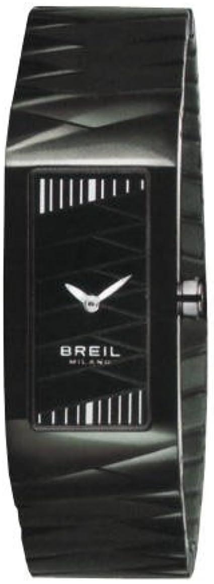 Breil Milano BW0347 - Reloj de Mujer de Cuarzo, Correa de Acero Inoxidable Color Negro
