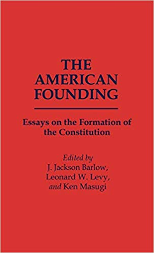 Samples Of Essay Writing In English  Sample Essay With Thesis Statement also Synthesis Essay Topics Amazoncom The American Founding Essays On The Formation  Examples Of Essays For High School