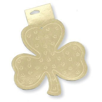 St. Patricks Day - Shamrock Small Cutout - Green - Party Supplies - (Baby Pot Of Gold Costume)