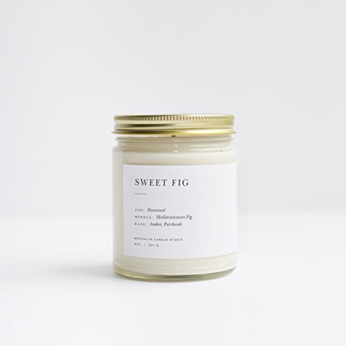Early American Candle (Sweet Fig Minimalist Jar Soy Candle)