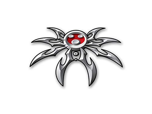Poison Spyder Spyder Logo Decal Medium - 9