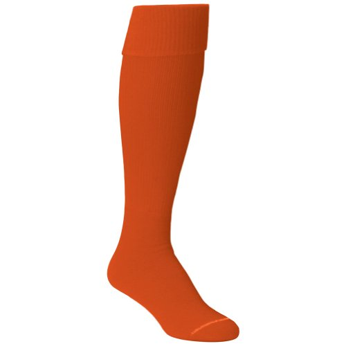 Twin City Team Sock Solid Adult Size 9-12 Orange]()
