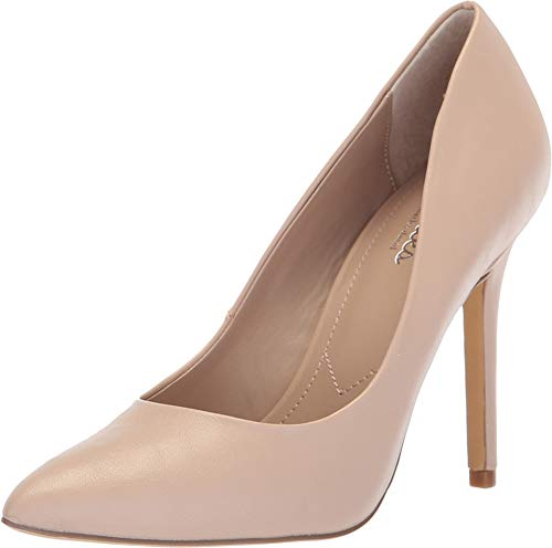 CHARLES BY CHARLES DAVID Womens Palma Pointed Toe Classic, Nude Smooth, Size 7.5