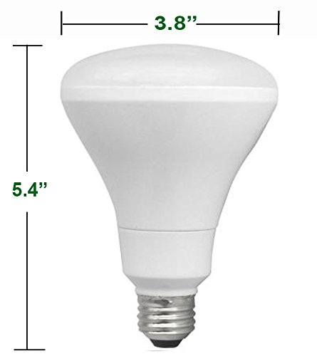 Ecosmart LED BR30 Indoor Flood Bulb, 65W Replacement