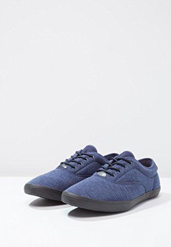 style look kaki homme basses pour ou pour hommes YOURTURN gris chic homme pour Foncé à jersey sportif Noir Baskets Bleu casual lacets Chaussures basses en bleu Chaussures zHqZRH