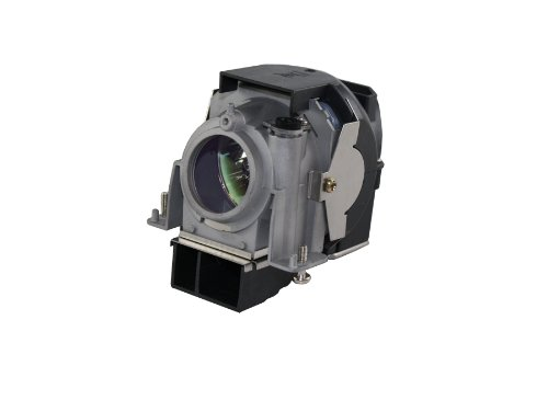 Quality Compatible NEC NP64 220 Watt 2500 Hrs UHM Projector Bulb/Lamp with Housing ()