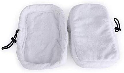 CADANIA Bissell 720020 720021 720502 Tampons de vadrouille pour Nettoyeur /à Vapeur Chiffon de Nettoyage pour sols durs
