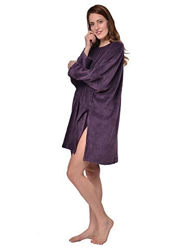 nuit taille Violet coucher poncho Lila Dunkel Raikou unique unique Cq5TfnW