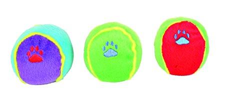 TRIXIE 24 Toy Balls, Plush