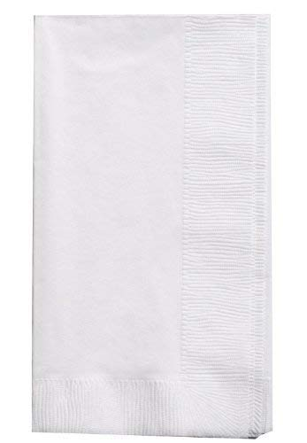 Bell Marque White Dinner Napkin-300 2-Ply White