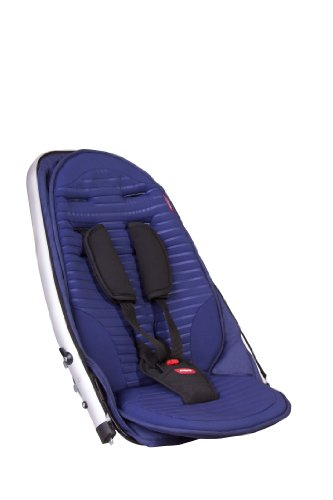 phil&teds Vibe and Verve Double Kit Second Seat, Cobalt