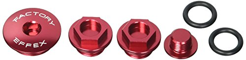 Factory Effex (12-36302) Red Engine Plug Kit