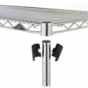 InterMetro Split Sleeves Super Erecta 4/pk Conductive Plast