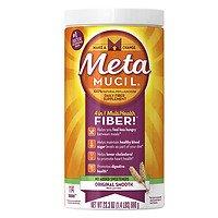 Metamucil Smooth Texture Sugar-Free Unflavored 114 Each ( 2 pack) ()