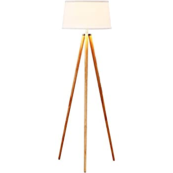 Brightech emma led tripod floor lamp mid century modern standing brightech emma led tripod floor lamp mid century modern standing light for contemporary living rooms aloadofball Images
