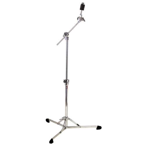 Gibraltar 8709 Flat Base Hideaway Boom Cymbal Stand with Brake Tilter (Stand Braced Single Boom)