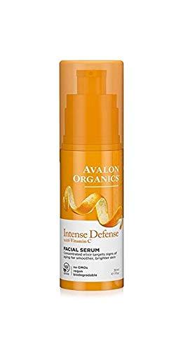 Avalon Organics Intense Defense with Vitamin C, Facial Serum 1 oz