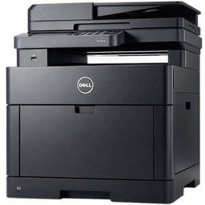 Dell H825cdw Laser Multifunction Printer - Color - Plain Pap
