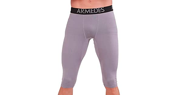 ARMEDES Men/'s Compression Pants Baselayer Cool Dry Sports Shorts Tights AR 181