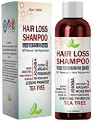 Best Hair Loss Shampoo Potent Hair Loss Fighting Formula 100% Natural Topical Regrowth Treatment Restores Hair Stops Hair...