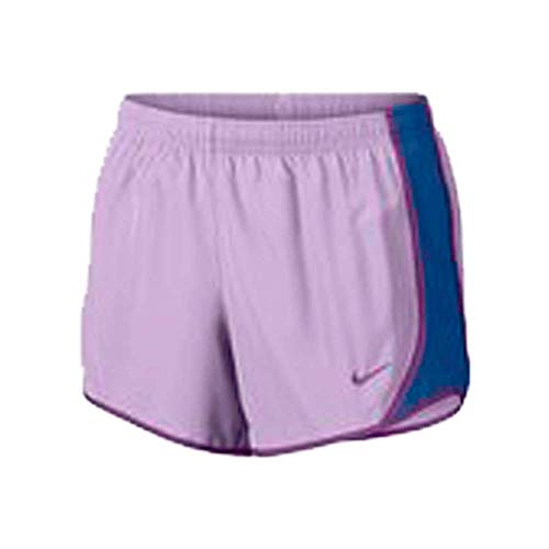 NIKE Girl's Dry Tempo Shorts Violet Mist/Blue Jay/Bold Berry Size Youth XL by NIKE