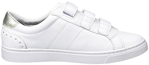 17a1 Basses Femme White Hilfiger Sneakers Blanc V1285enus Tommy ITqEf