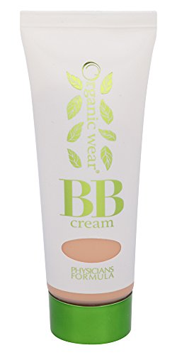 Physicians Formula Organic Wear 100% Natural Origin BB Beauty Balm Cream, Light, 1.2 Fluid Ounce