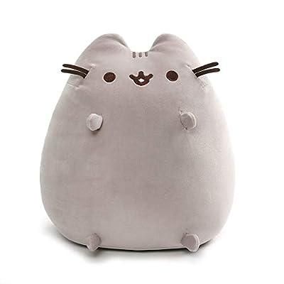 "GUND Pusheen Squisheen Sitting Plush Stuffed Cat, 15"": Toys & Games"