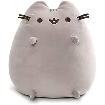 Amazon.com: GUND Pusheen Cat Super Jumbo Plush Stuffed ...