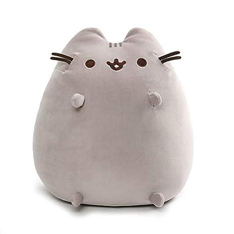 Amazoncom Gund Pusheen Squisheen Sitting Plush Stuffed Cat 15