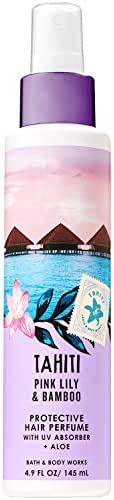Bath and Body Works TAHITI - PINK LILY & BAMBOO Protective Hair Perfume 4.9 Fluid Ounce (2019 Edition)
