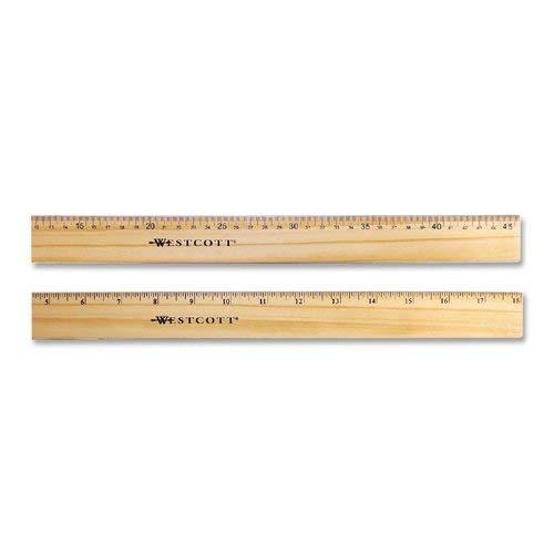 Westcott Double Metal Edge Ruler - 18