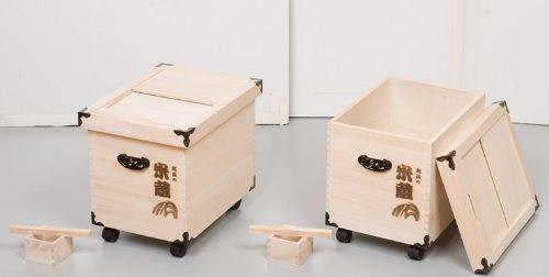 純和風 桐製 米びつ 米蔵