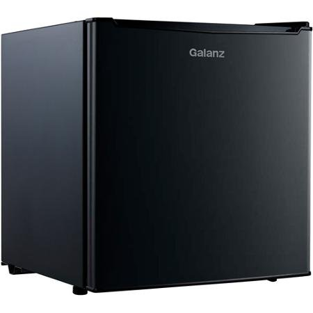 Galanz 1.7 cu ft Compact Refrigerator, Black (Retro Fridge Freezers Best Prices)