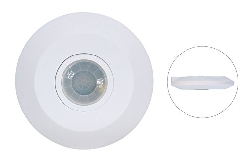 J.LUMI YCA1050 PIR Based Motion Detector, Infrared Motion Sensor, Slim Design 1