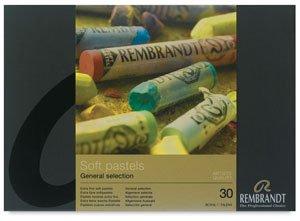 Rembrandt Soft Pastel Set, 30 Pieces