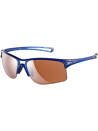 Adidas Eyewear Sunglasses A404 6057 Raylor L Transparent Blue Silver - Adidas Transparent