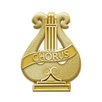 Chorus Music Pins Prime Crown Awards Chenille Chorus Pins