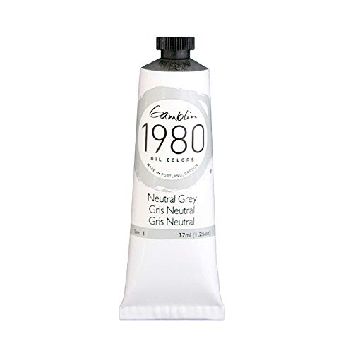 (Gamblin 1980 Oil Neutral Grey 37Ml)