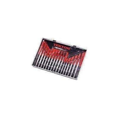TEKTON 2987 Precision Screwdriver Set 16-Piece Multi-Colored WLM