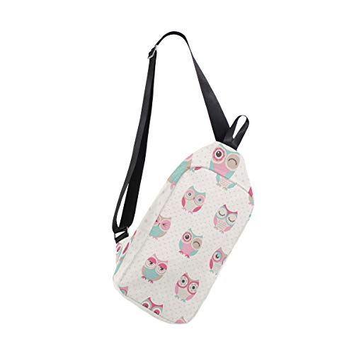 Cross Bag Seamless Owls Bennigiry Backpack amp; Chest Men Sling For Shoulder Birds Body Small Waterproof Women zPBwaBdxq5
