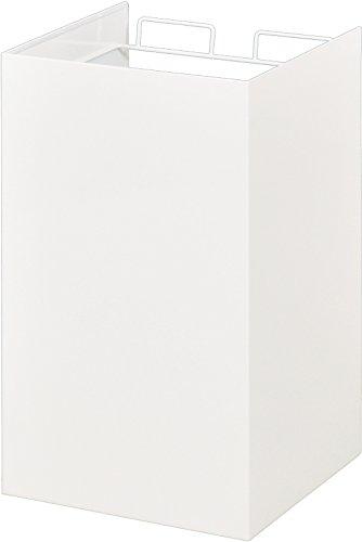 レジ袋ダストボックス [kakusu] (ブラック, 2分別) B00OELEJRG 2分別|ブラック ブラック 2分別