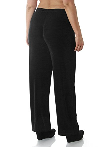 Vikki Vi Women's Plus Size Pull-On Pant 4X Black