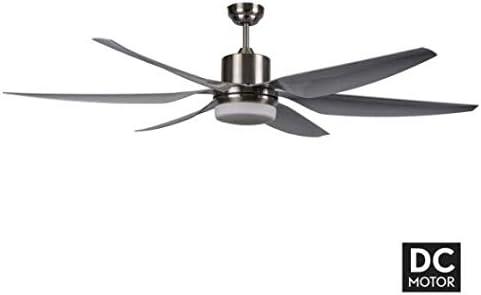 Ventilador XL con motor DC levante LED con luz, fabrilamp.: Amazon.es: Iluminación