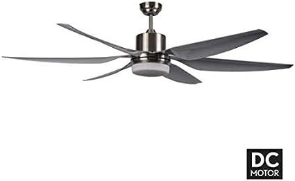 Ventilador XL con motor DC levante LED con luz, fabrilamp.: Amazon ...